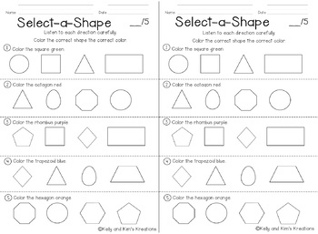 Kindergarten Daily Math Review {no-prep assessments for Common Core standards}