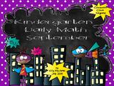 Kindergarten Daily Math Sept. -  NO PREP-Distance Learning