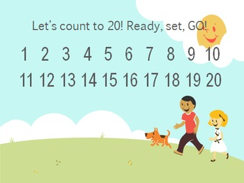 Kindergarten Daily Math Skills Week #1