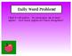 Kindergarten Daily Word Problems
