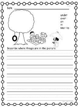 Wonders Kindergarten Daily Writing Practice Unit 4 McGraw Hill