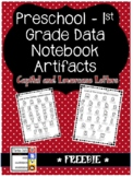 FREEBIE Kindergarten Data Artifact - Letters I Know
