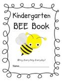 Kindergarten Data / BEE Book with Common Core Assessments