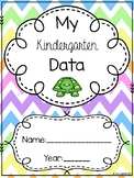 Kindergarten Data Binder with Quarterly Assessments and a Mastery Grade Book