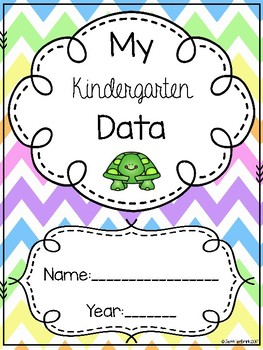 Kindergarten Data Binder with Quarterly Assessments and a