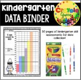 Kindergarten Data Binder