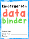 Kindergarten Data Binder (English)
