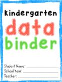 Kindergarten Data Binder (2020_ENGLISH)