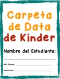 Kindergarten Data Binder (Spanish)