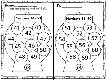 Kindergarten Data Binder and Boards