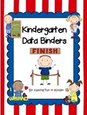 Kindergarten Data Binders - Kindergarten Data Notebooks - Common Core Aligned