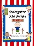 Kindergarten Data Binders - Kindergarten Data Notebooks -