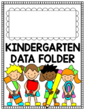 Kindergarten Data Folder Cover Page