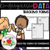 Data Tracking for Students - Kindergarten data