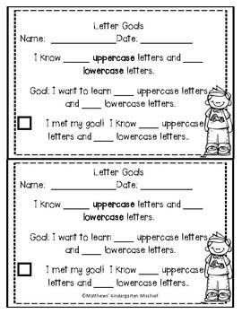 Kindergarten Data Notebook