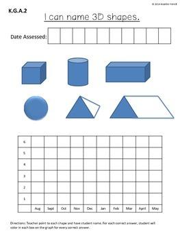 Kindergarten Data Notebook Common Core