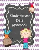 Kindergarten Data Notebook Cover