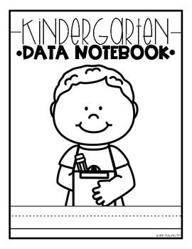 Kindergarten Data Notebook Editable