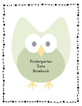 Kindergarten Data Notebook Sheets