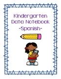 Kindergarten Data Notebook - Spanish