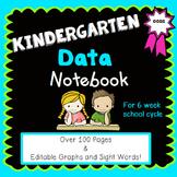Kindergarten Data Notebook {for a 6 Week School Cycle}