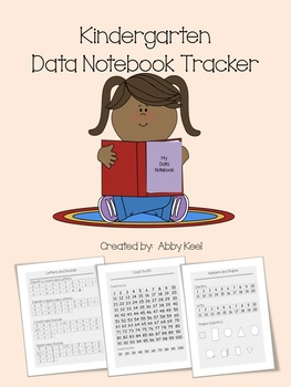 Kindergarten Data Tracker for Students and Teachers