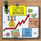Kindergarten Data and Assessment Folder