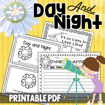 Day and Night - Kindergarten Day Time, Night Time, and Space