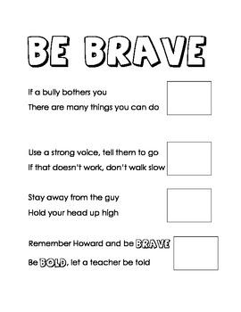 Kindergarten Dealing with a Bully