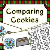 Kindergarten December Math Center - Comparing Numbers