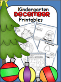 A+ December Math and ELA Unit - Kindergarten