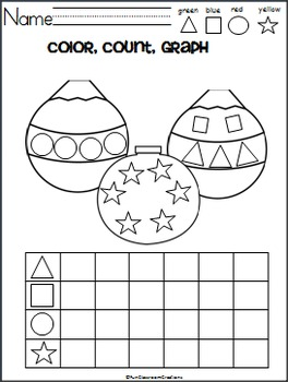 December Math and ELA Unit - Kindergarten