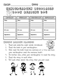 Kindergarten Decodable Book Reading Log English and Spanish