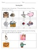 Kindergarten Decoding Worksheet Bundle