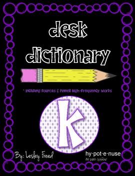Desk Dictionary