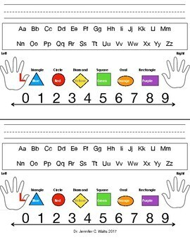 Kindergarten Desk Tags