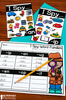 Kindergarten Detective Theme Centers | Math and Literacy Activities