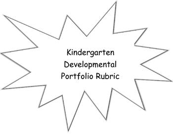 Kindergarten Developmental Rubric