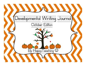 Kindergarten Developmental Writing Journal October Edition