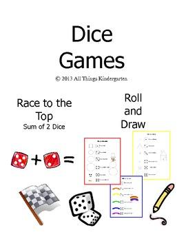 Kindergarten Dice Games