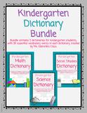 Kindergarten Dictionary Bundle