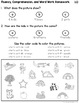 Kindergarten Differentiated Reading Passages with Comprehe