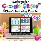 Kindergarten Digital Bundle: Google Slides for Distance Learning