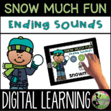 Kindergarten Digital Center: Ending Sounds (January Distan