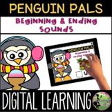 Kindergarten Digital Center: Beginning & Ending Sounds (Ja