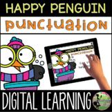 Kindergarten Digital Center: Penguin Punctuation (January