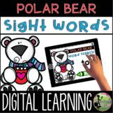 Kindergarten Digital Center: Sight Word Search (January Di