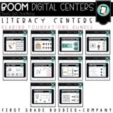 Kindergarten Digital Literacy Centers | Reading Foundation Skills | Boom Cards