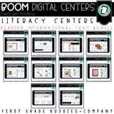 Kindergarten Digital Literacy Centers | Reading Information Skills | Boom Cards