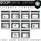 Kindergarten Digital Literacy Centers | Reading Literature Skills | Boom Cards
